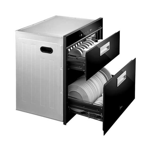 【嵌入式】消毒柜 86L容量 125℃高温 上下两层独立消毒 MXV-ZLP100Q33