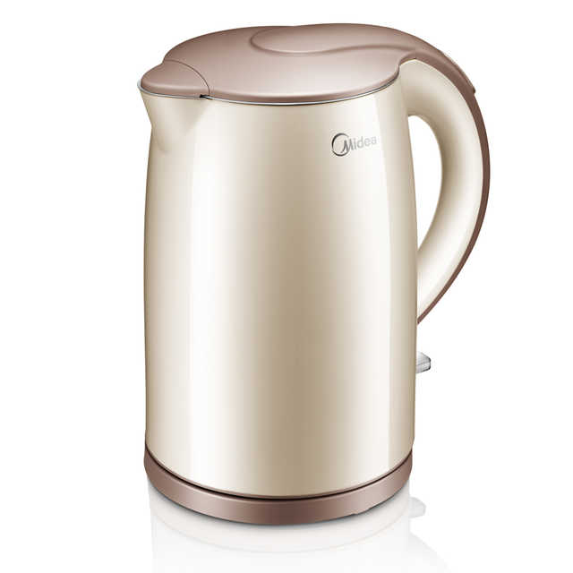 电水壶 1.5L 双层防烫 食品级不锈钢壶身 上盖一手开盖设计 H415E2j