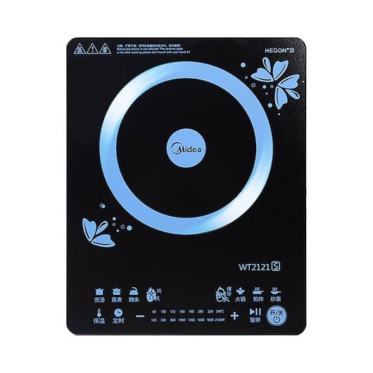 【高性价比】电磁炉 薄外观设计 火力时间双显屏 高效节能 C21-WT2121S