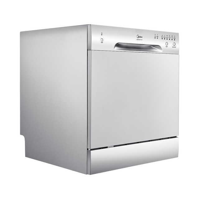 【台嵌两用】洗碗机 双层8套餐具 6大洗涤程序 洗水果/海鲜 易安装 WQP8-3801-C