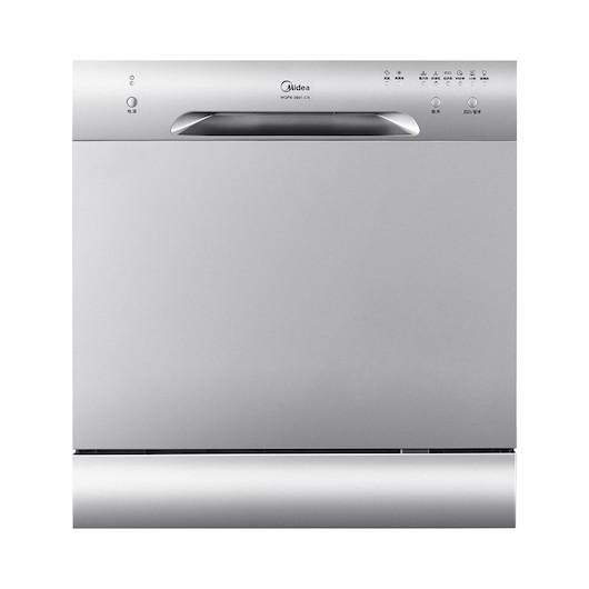 【台嵌两用】洗碗机 双层8套餐具 6大洗涤程序 洗水果/海鲜 易安装 WQP8-3801-CN