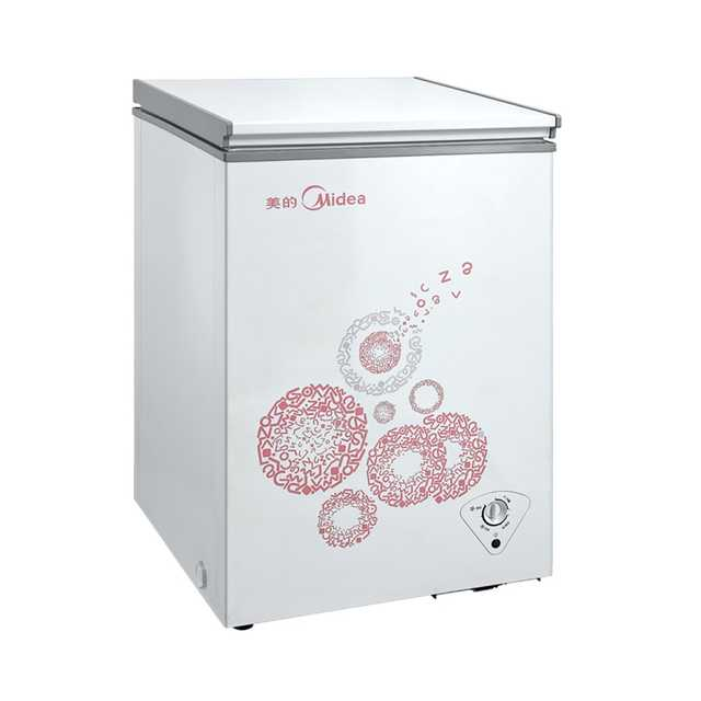 Midea/美的冷柜 96升 冷藏冷冻随时切换 低噪节能  BD/BC-96KM(E)