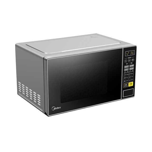 智能微波炉 多功能快捷菜单 转盘式均匀速热 营养速解冻 21L大容量 M1-L213C黑色