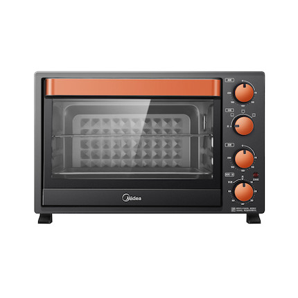 电烤箱 上下独立控温 能烘会烤 32L大容量 四层烤位 钻面内腔 均匀加热 T3-L326B