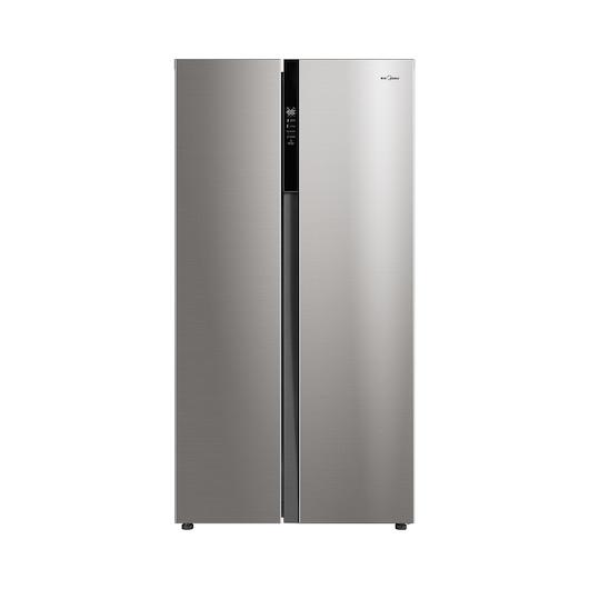 【新品】美的 BCD-525WKPZM(E)智能变频/风冷无霜对开门冰箱银色