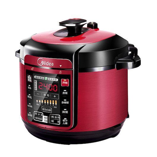 【性价之选】电压力锅 6L大容量 一键排气 快速开盖 一锅双胆 MY-QC60A5
