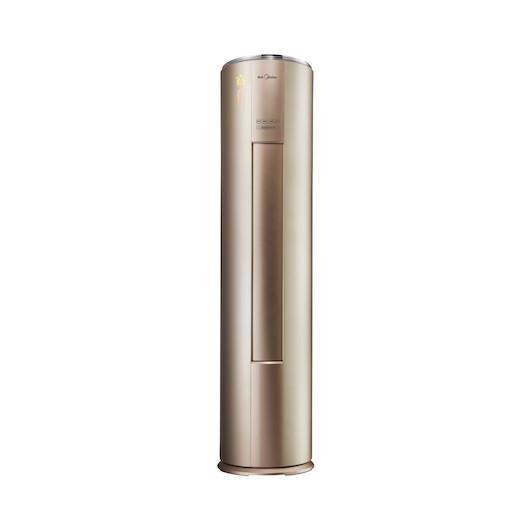 【咨询更优惠】空调大2匹 圆柱柜机 一级能效变频冷暖 智能立柜式 KFR-51LW/WYCA1@