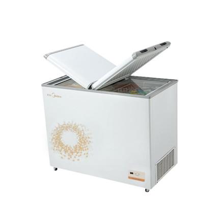 【新品推荐】锁冷更节能 D+速冷系统 电子宽幅控温 美的冷柜BCD-271VEM旋律金