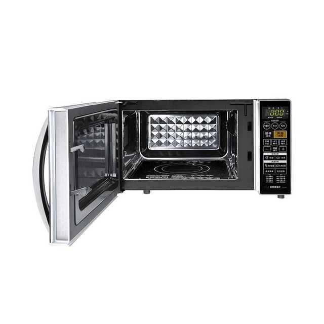 【变频】微波炉 智控火力 省电 静音 防水设计 M1-L201B银色