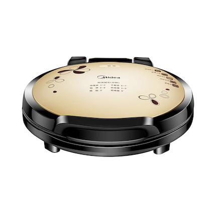 【炫彩时尚】电饼铛 34CM加大烤盘 智能感温系统 上下烤盘 双面加热 MC-JHN34Q