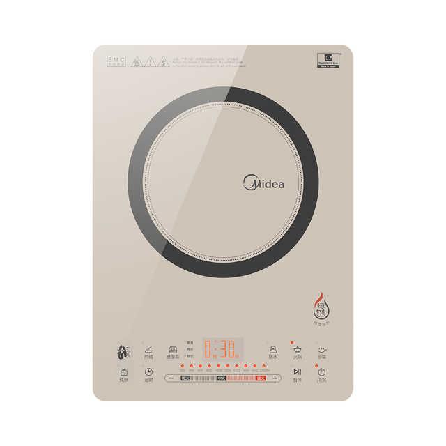 电磁炉 专业桑拿蒸 滑控火力调节 恒匀火加热 NEG时尚彩板 C21-QH2130