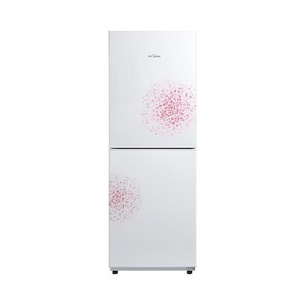 【静音高颜值】Midea/美的冰箱169升 时尚妙趣面板 低温补偿 BCD-169CM(E)