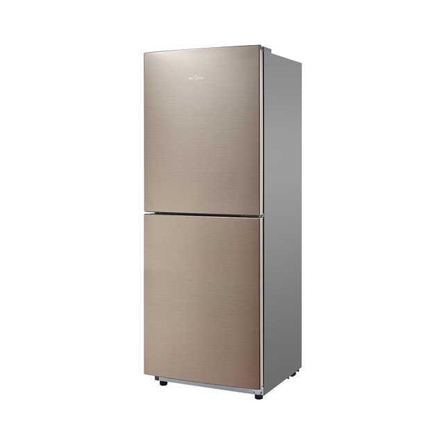 【新品推荐】冰箱 BCD-166WM  家用双门小冰箱 小型风冷无霜 爵士棕