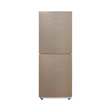 【居家好物】家用双门166L小冰箱 小型风冷无霜 铂金净味 BCD-166WM 爵士棕