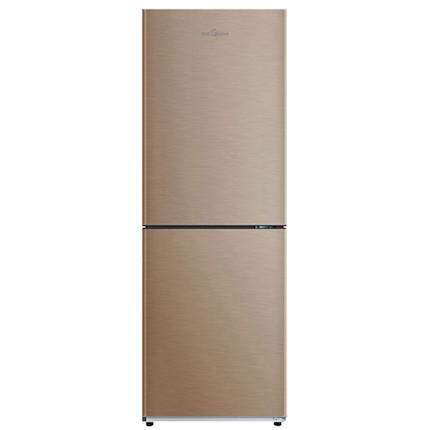 186L双门冰箱 风冷无霜 双系统控温 高保湿 铂金净味 BCD-186WM 爵士棕