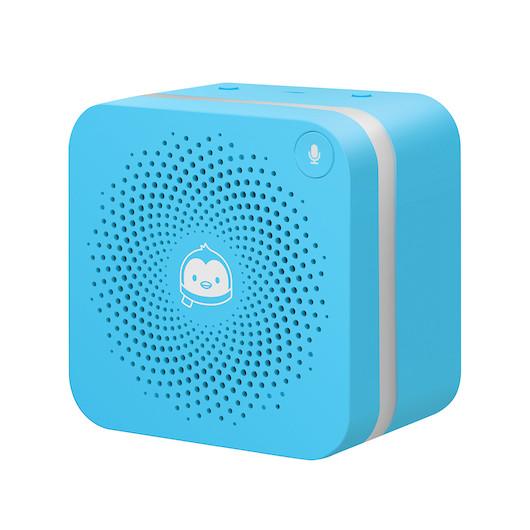 QQfamily定制版智能语音盒 MSBE-VA011-蓝 科技潮品 儿童成长伴侣