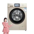 【立体除菌】小天鹅10KG滚筒洗衣机 立体除菌防护 双重稳定振幅小 智能家电TG100V120WDG
