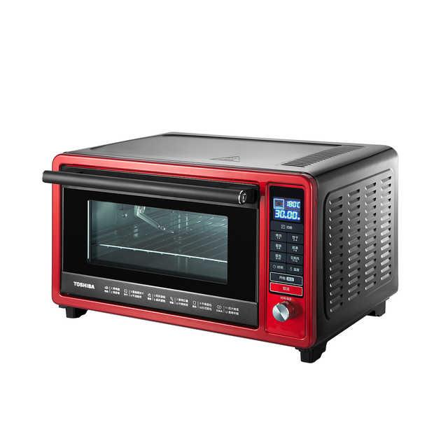 Toshiba/东芝 D3-256A日本家用小型迷你专业电烤箱烘焙蛋糕多功能