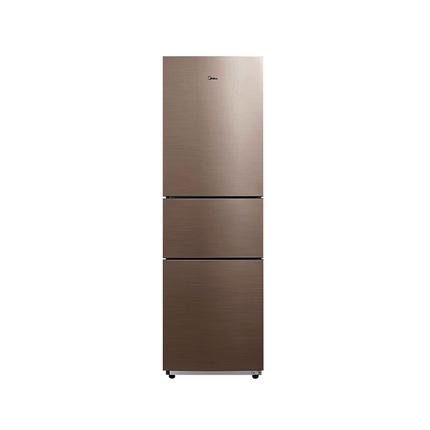 【风冷无霜】217L三门冰箱 双系统制冷 冷藏室速冻 铂金净味BCD-217WTM