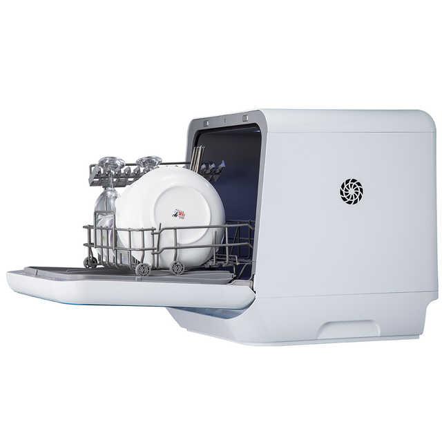 送洗涤块【免安装】洗碗机 WIFI智能 29分钟超快洗 升级碗篮 可洗果蔬红酒杯 4套餐具 M3-T