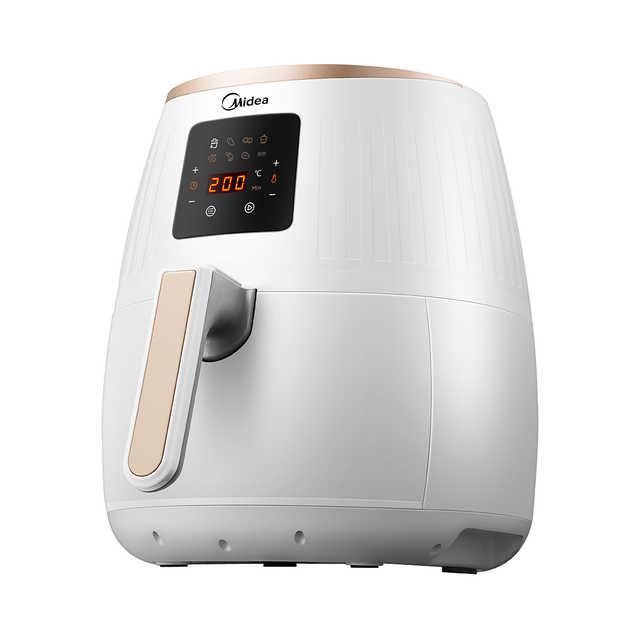 空气炸锅 经典白色 无油煎炸 高光耐热PP材料 1500W大火力 MF-WZN3201