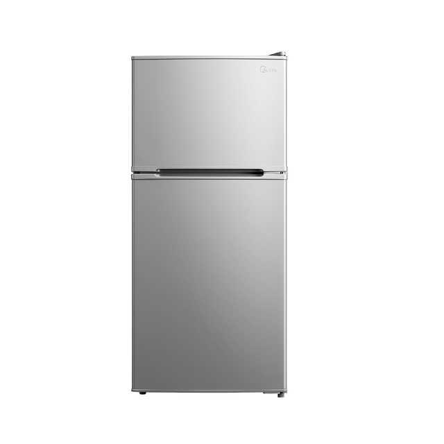 【租房神器】美的(Midea)112升家用两门冰箱 小型电冰箱 双门小冰箱BCD-112CM