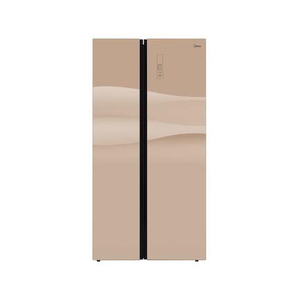 【新品推荐】多维立体鲜活风 二星级软冷冻 超大使用容积 美的冰箱BCD-545WKGM层峦金