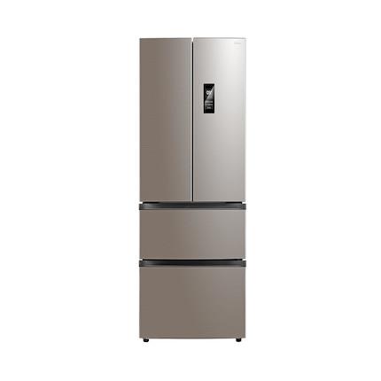 【送智能音箱】319L法式四门冰箱 铂金净味 风冷无霜 变频智能BCD-319WTPZM(E)