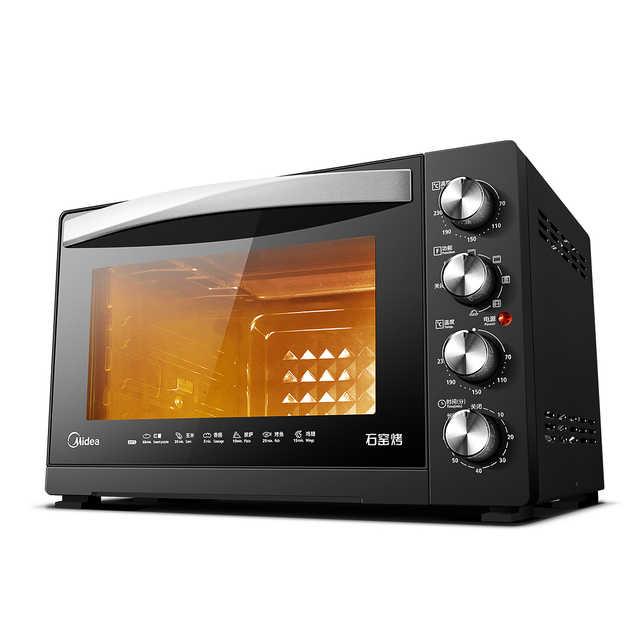 石窑烤电烤箱 搪瓷内胆 低温发酵 热风循环烘焙 外焦里嫩好口感 T3-L322E