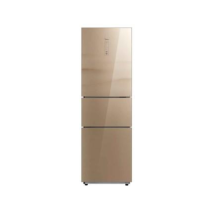 【新品推荐】 倍润鲜蔬新风冷 原味净味智控温 美的冰箱BCD-217WTGM层峦金