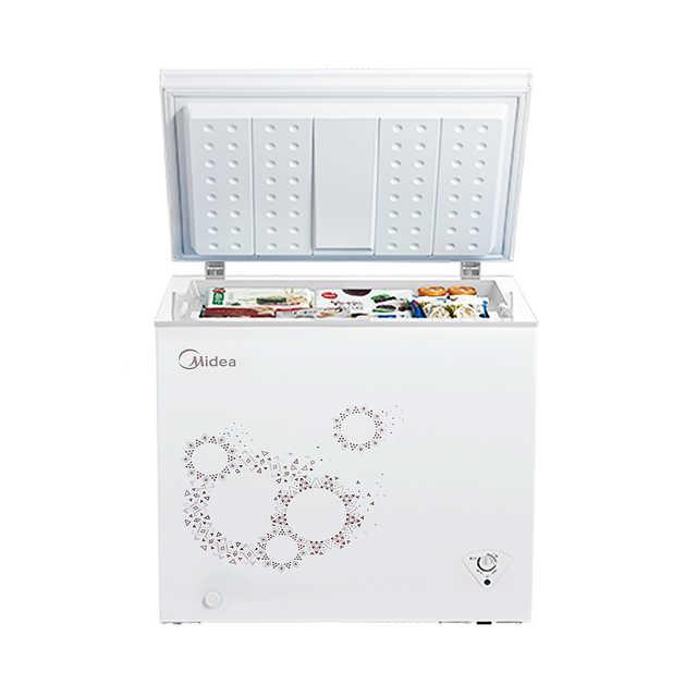 美的(Midea) 203升家用冰柜冷柜冷藏冷冻可转换节能静音BD/BC-203KM(E)
