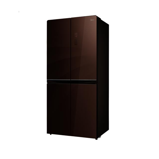 美的 十字对开门冰箱 多维智能双变频无霜 铂金净味 BCD-476WGPM(E)多维变频十字
