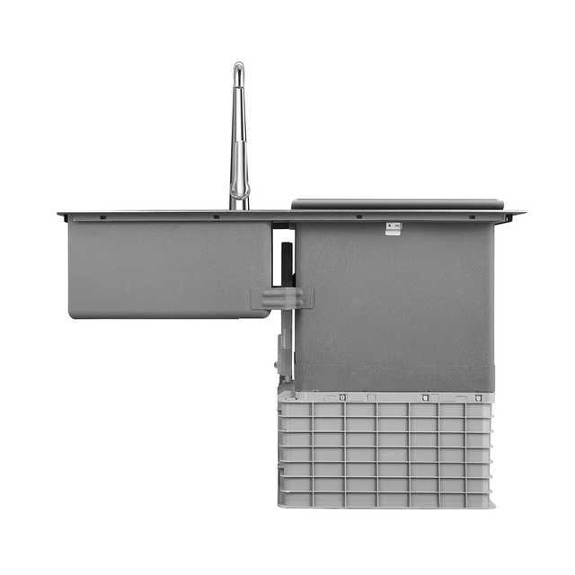 【高端嵌入式】水槽洗碗机 4.0手工水槽 活水洗碗 果蔬精华 三合一除菌消毒 F3