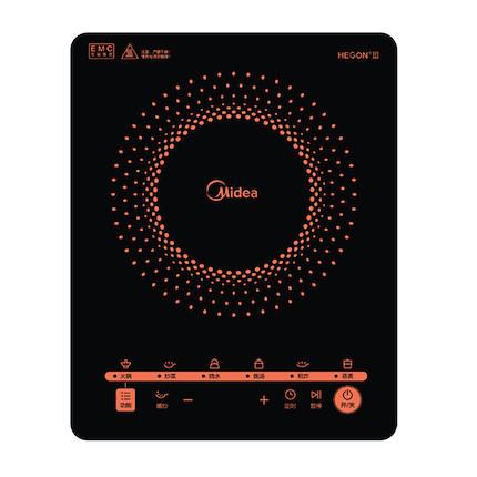 电磁炉 人性化智能暂停 汉森高强面板 2100W大功率 C21-RT2171