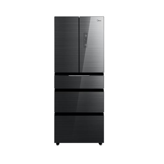 【新品推荐】微晶生鲜 智能控湿 PST智能杀菌 美的对开门风冷冰箱 BCD-406WGPZM