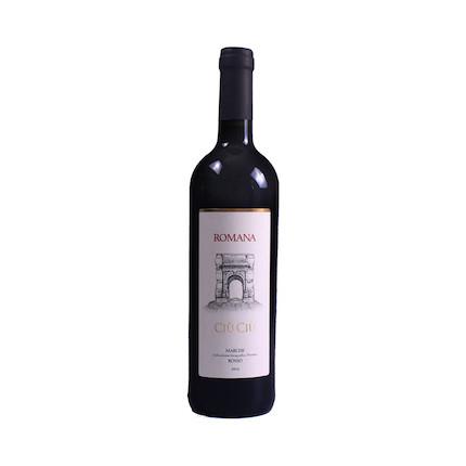 红酒 原瓶进口罗曼娜干红葡萄酒 750ml