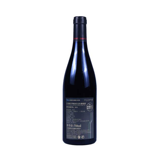 红酒 圣戈斯庄罗纳河谷丘红葡萄酒750ml 2015