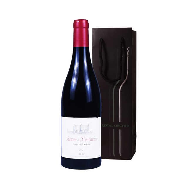 红酒 麦芳勤庄路易伯爵干红葡萄酒750ML