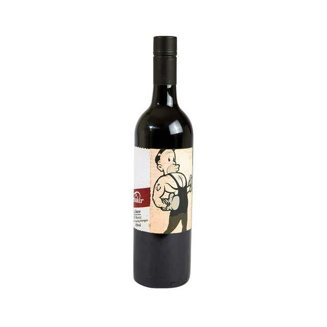 红酒 原瓶进口左撇子拳师干红葡萄酒 750ML