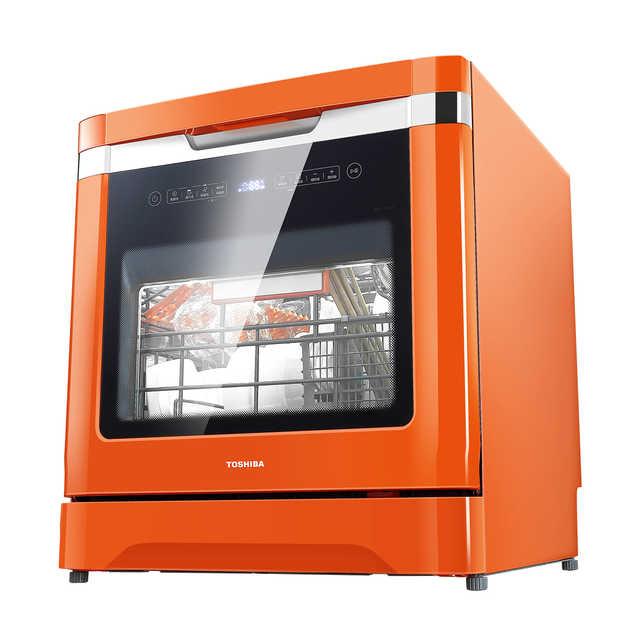 Toshiba/东芝 DWZ2-0812A 智能洗碗机家用全自动嵌入式独立台8套
