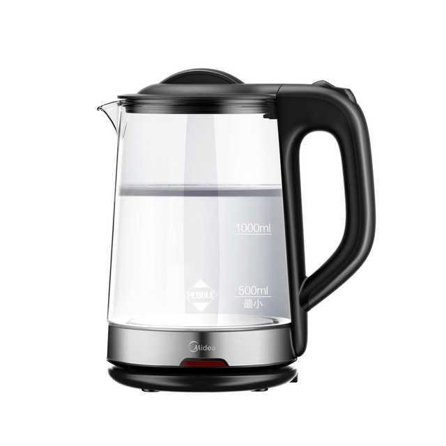 电水壶 1.7L 高绷硅玻璃 可视化设计 急速沸腾 MK-WGJ1702