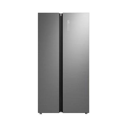 【新品推荐】温湿精控 铂金净味 智能变频 立体鲜活风 美的冰箱BCD-550WKGPZM冰川银