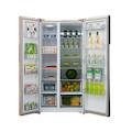 【新品推荐】美的 621升双门电冰箱 智能变频风冷无霜 对开门冰箱BCD-621WKPZM(E)
