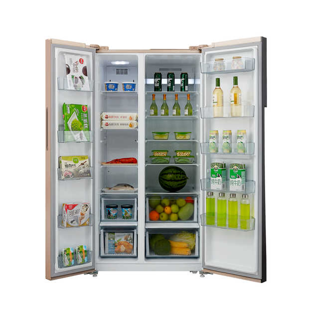 【热销新品】621L对开门电冰箱 大容量优选 智能变频风冷无霜 BCD-621WKPZM(E)