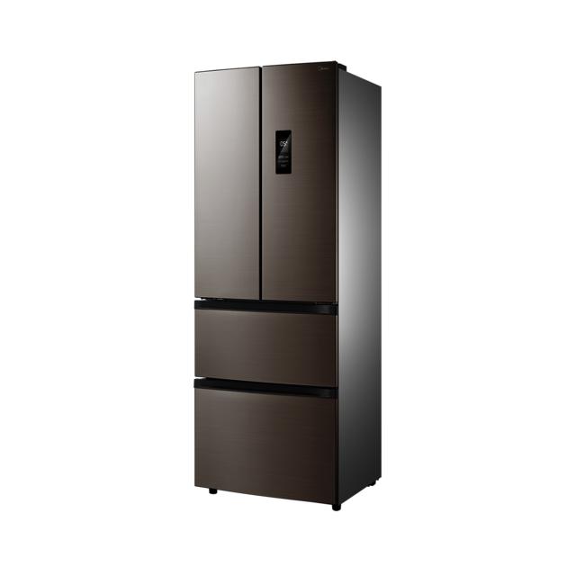 【新品推荐】美的(Midea) 318升多门冰箱风冷无霜智能变频BCD-318WTPZM(E)爵士棕