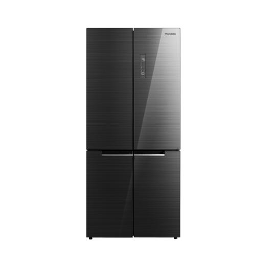 美的冰箱 BCD-535WGPZV冰箱家用四开门双开门对开门十字四门