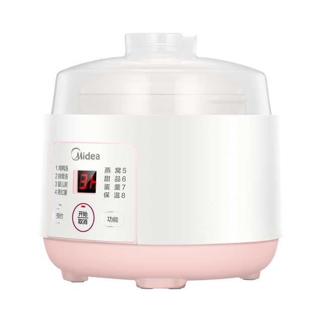 电炖盅 隔水精炖 0.8L白瓷内胆 7大菜单 24小时预约 DZ08Easy101