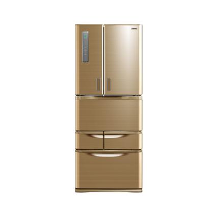 冰箱 东芝 冰箱 BCD-450WJT 流光金