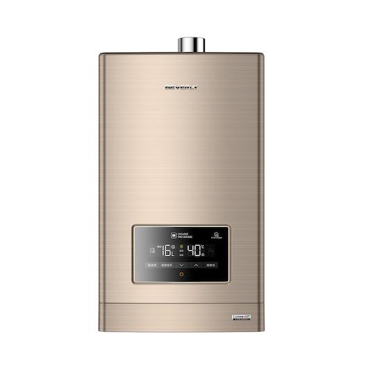 燃气热水器 比佛利 16L水气双调 四季随温 稳燃恒温 中央抗风 免安装材料费 JSQ30-W2