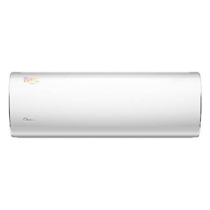 美的小1匹三级定速单冷壁挂式家用空调挂机KF-23GW/Y-DH400(D3)